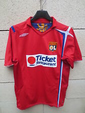 VINTAGE Maillot LYON OLYMPIQUE LYONNAIS Umbro 2007 away shirt football YXL XS