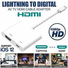 Lightning zu HDMI Digital AV TV Kabeladapter für iPad Air iPhone 5 6 7 8 X XR XS