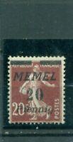 Memel, Wappen Nr. 56 postfrisch **