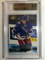 2016-17 Upper Deck Jimmy Vesey Young Guns Rookie BGS 9.5 True Gem Mint