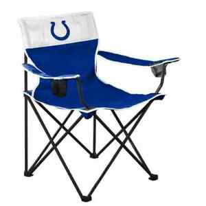 NEW Indianapolis COLTS Big Boy Folding Chair Up To 350 lbs Carrying Bag Included