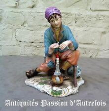 B2018104 - Grande figurine en biscuit de porcelaine 1950-70 - Très bon état