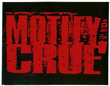 13180 Motley Crue Hair Glam Metal Hard Rock Alt 80s Retro Logo Sticker / Decal