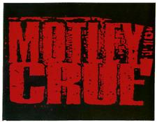 13180 Motley Crue Hair Glam Metal Hard Rock Alt 80s Retro Logo Sticker / Decal