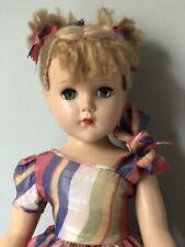 "All Original Vintage 1950's Arranbee R&B Hard Plastic 18� Doll ""Nancy Lee�"