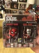 SDCC 2014 Neca Spider-man/ Iron Man Scalers  2 Pack