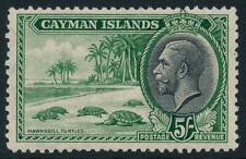Cayman Islands 1935 SG 106 MM cat. £65