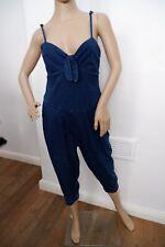 Marc By Marc Jacobs New Bnwts Size S Small Rrp £185 Blue Denim Capri Leg