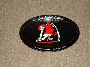 "circa 1960's St Louis Football Cardinals 6 x 8.5"" Plate -scarce!"