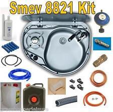 SMEV 8821 RH SINK HOB COMBINATION KIT - HOSE + PUMP + TAP + GAS FITTINGS + TANKS