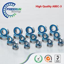 Traxxas 1/10 E-Revo (#5608) blue Rubber Ball Bearing Set ABEC-3 33PCS