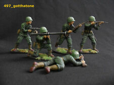 Painted Plastic American Toy Soldiers 1