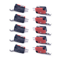 10x Micro Roller Lever Limit Switch SPDT Microswitch Fit for Electric Tools