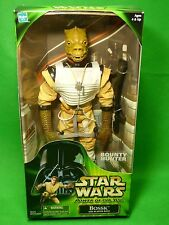 "Star Wars BOSSK with Blaster Rifle 12"" Figure POWER OF THE JEDI New!"