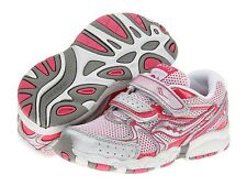 Saucony Cohesion 6 Girls  Sneakers Pink/Silver Infant Girls Size 6 1/2 M