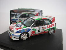 TOYOTA COROLLA WRC #6 ACROPOLIS RALLY 1998 D. AURIOL 1/43 VITESSE NEW