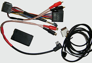 Autoleads Pioneer iPod adaptor interface lead iPhone aux input cable PC7-POD-PIO