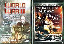 World War II - V 2 (DVD); Divide & Conquer- Battle Of Britain (DVD)