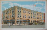 1920 Postcard: Elks Hotel - Brainerd, Minnesota Minn MN