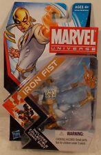 "Marvel Universe 3.75"" Series 4 #006  Iron Fist  Hasbro  MOC"