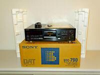 Sony DTC-790 DAT-Recorder Schwarz, OVP&NEU, 2 Jahre Garantie