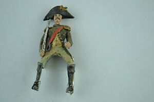 Lead Toy Soldier Figure Vintage Handpainted Figurine Statue 650-652