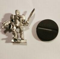 Warhammer 40k Space Marine Scout Metal OOP 1997
