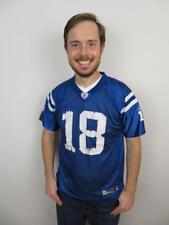 Reebok Peyton Manning Indianapolis Colts Jersey Youth XL (18-20 Boys Kids Mens S