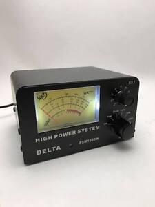 1000 WATT POWER & SWR METER CB HAM RADIO ANTENNA METER 26-30 MHz DELTA PSM1000W