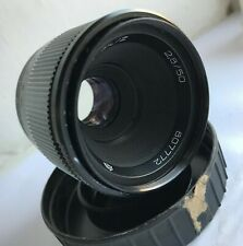 INDUSTAR-61L/Z f2.8/50mm lens screw M42 mount for Zenit, Sony, Pentax M + case
