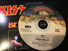 RARE CD Single  Kiss - Beth / Detroit Rock City  CASABLANCA NM
