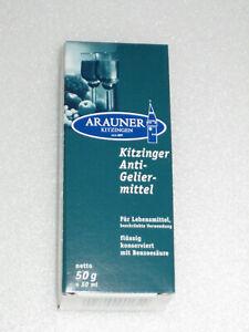 KITZINGER  ARAUNER  ANTIGELIERMITTEL FÜR  WEIN  ANTIGEL