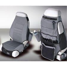 Jeep Cj Yj Tj Wrangler 76-06 Seat Protector Gray Fabric X 13235.09