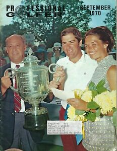 1970 SEPT Professional Golfer magazine golf Dave Stockton PGA Championship VG