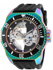 Invicta Russian Diver Ghost Mechanical 21 Jewels 52mm Black Men's Watch 25628