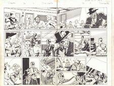 Deadpool #26 Nick Fury & Wade Wilson in the 1950s DPS 2014 art by Scott Koblish