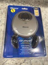 Memorex CD Player AM/FM Radio Headphones Model MD6883SIL Sealed New