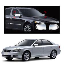 Side Mirror Cover Exterior Chrome Molding for Hyundai Sonata  2006-2009