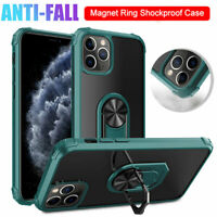 Hybrid Armor Case for iPhone 11 Pro Max XR XS X 7 Magnetic Ring Stand Hard Cover