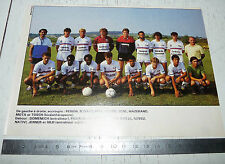 CLIPPING POSTER FOOTBALL 1987-1988 FC MULHOUSE ALSACE