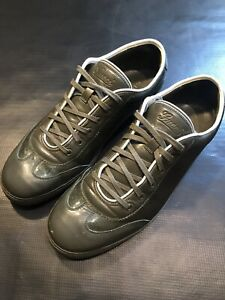 GUCCI SHINY PATENT LEATHER GG SIZE 45 US 12 SHOES LOW TOP SNEAKERS ALL AUTHENTIC