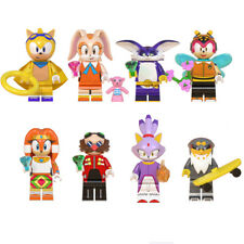 Sonic the Hedgehog Rabbit Tikal 8 PCS Building Blocks Toys Kids Toy Doll Gift