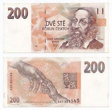 Czech Republic, 200 Korun 1993, Pick 6a, VF+