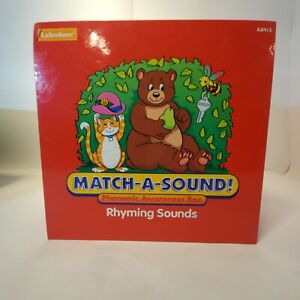 Lakeshore Match-A-Sound Phonemic Awareness Box Rhyming Sounds (Complete)