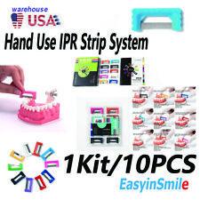 Dental Orthodontic Interproximal Enamel Reduction Ipr Hand Use Strips Tool 10pcs
