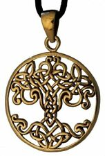 Keltischer Baum Varuna Anhänger Bronze Gothic Schmuck - NEU