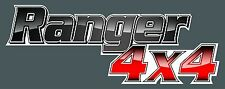 Ford Ranger Decal  Bullbar 4x4 4WD Ute