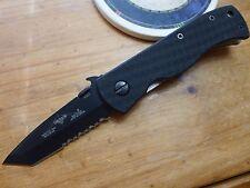 Emerson Knife MINI CQC-7BW-BTS Black Serrated Edge - Standoffs - Prestige Dealer
