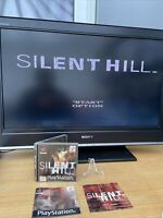 Silent Hill black label Sony PlayStation 1 PS1 Game Complete With Manual Tested
