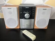 Sony Micro HiFi Component System MP3 Model CMT-EH20DAB Cassette Player CD Radio
